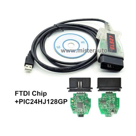 ELS27 FORScan Ford / Mazda / Lincoln / Mercury diagnostikos kabelis laidas