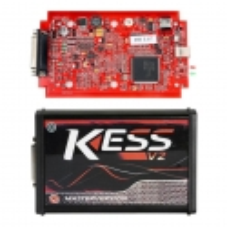 KESS V2 Master V5.017 / V2.53 RAUDONA plokštė ECU / DPF / Lambda / Chip tuning įranga EU